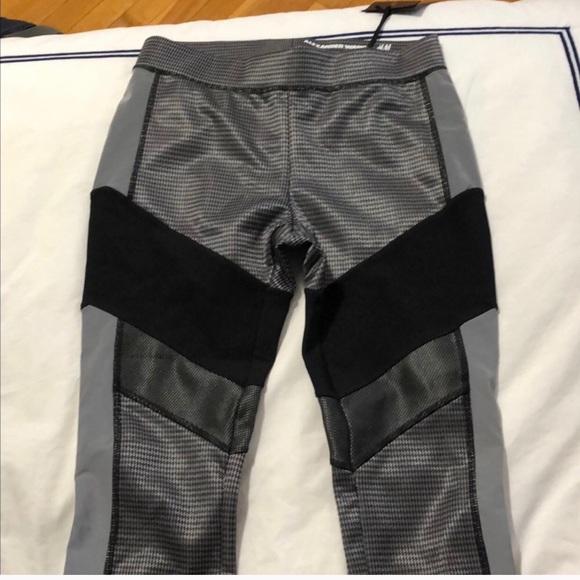 Alexander Wang Pants - Alexander Wang x H&M tights